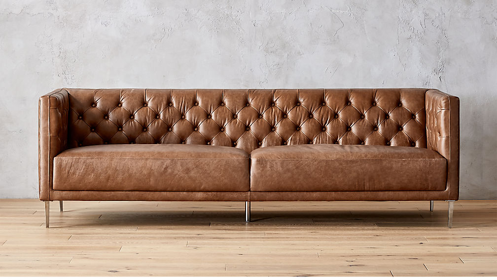 how to clean gum off of a leather couch