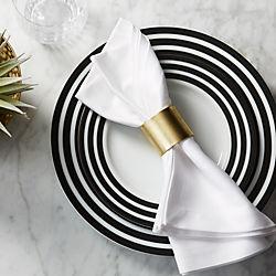 scott gold napkin ring