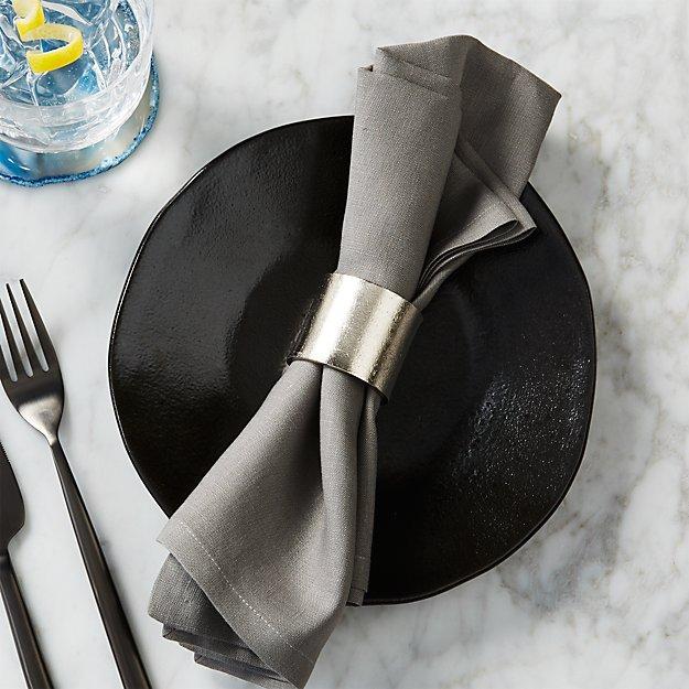 scott silver napkin ring