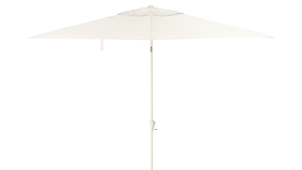 shadow rectangular sand umbrella shade with pole