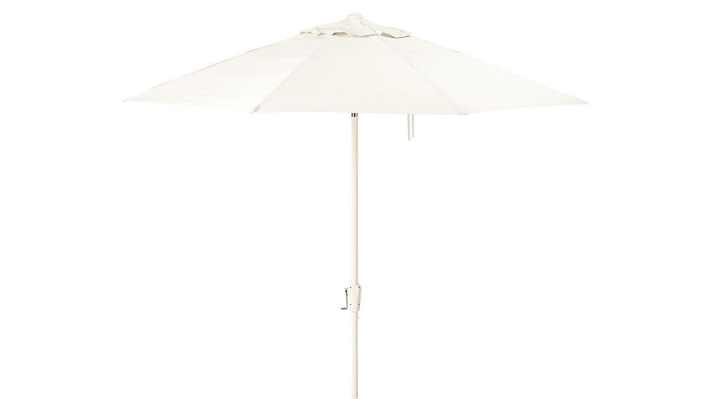 shadow round sand umbrella shade with pole