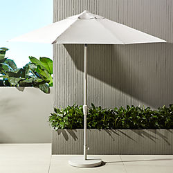 shadow round sand umbrella with base