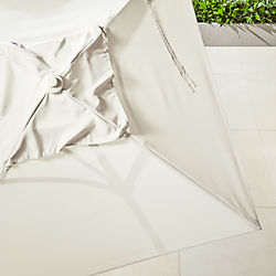 shadow square sand umbrella shade