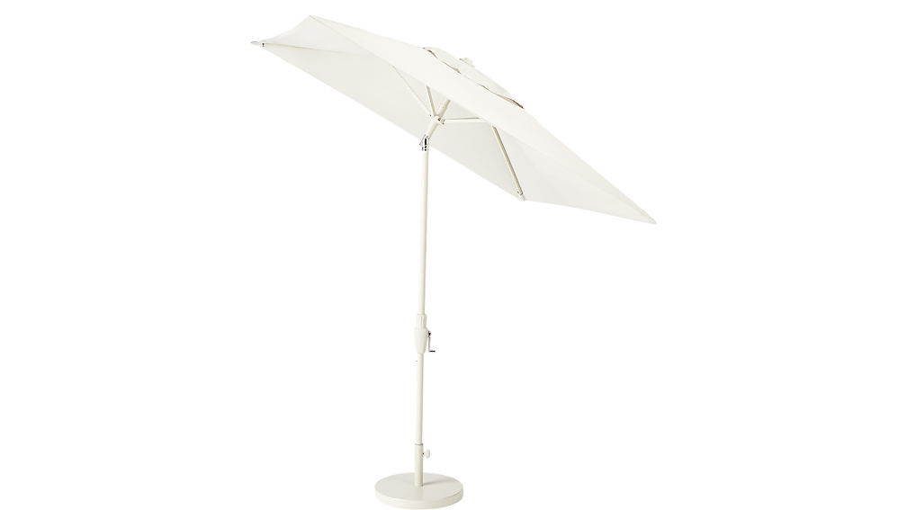 shadow square sand umbrella with base
