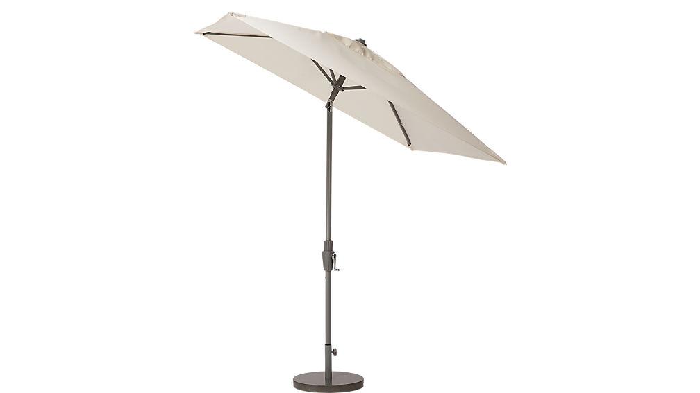 shadow natural umbrella shade with pole