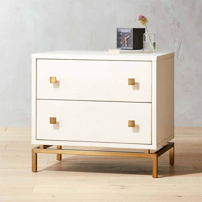 "Amazon.com: Greensburg Collection B671-93 29"""" 3-Drawer Nightstand ..."