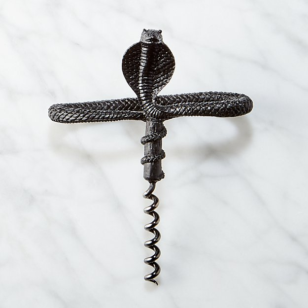 Coil Black Corkscrew