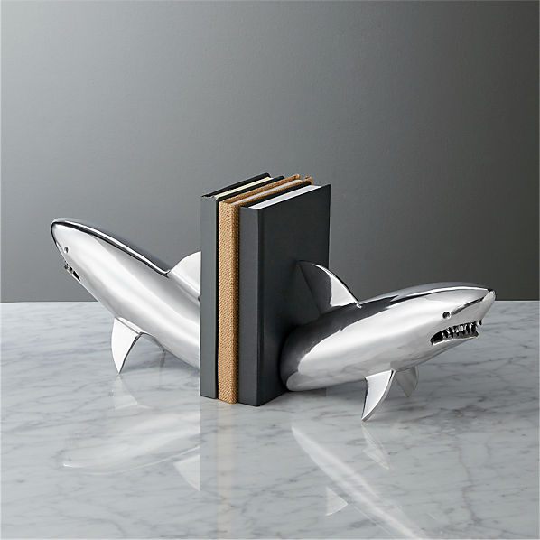 SharkSilverBookendROS17
