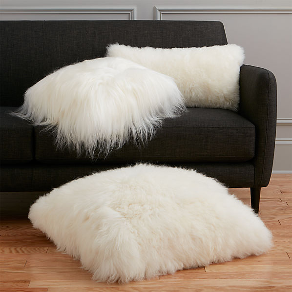 SheepSkinPillowGroupSHS16