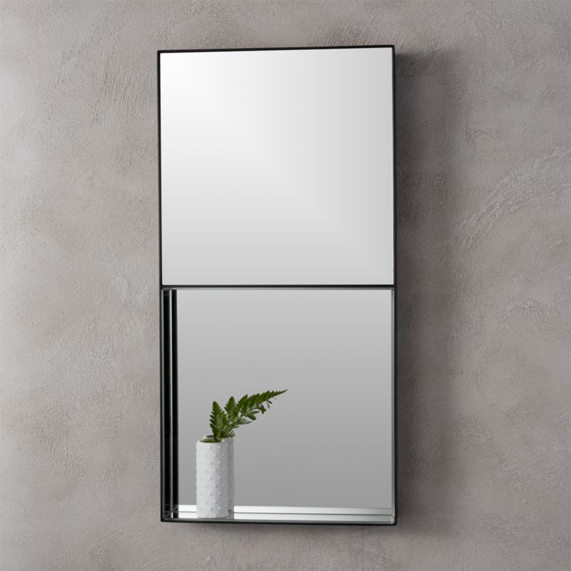 15 Quot X30 Quot Shift Rectangular Wall Mirror Cb2