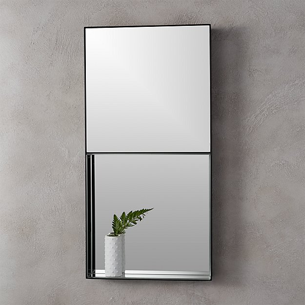 "15""x30"" shift rectangular wall mirror"