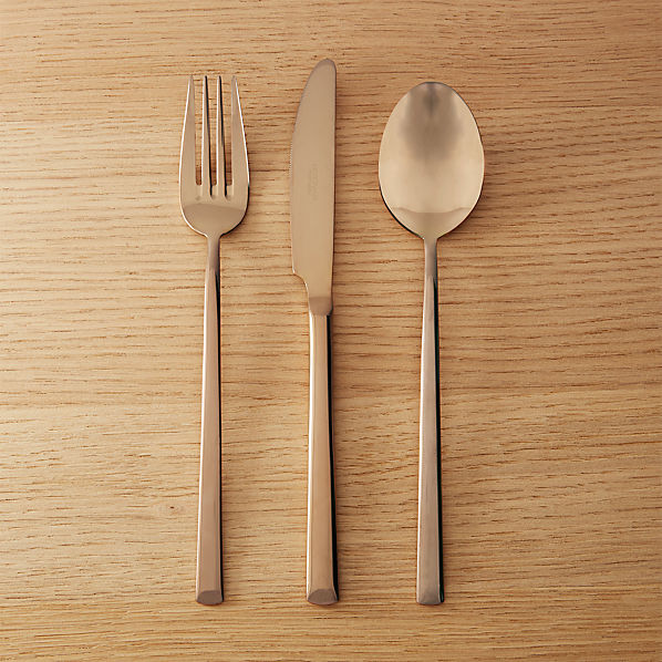 ShinyCopperFlatware3PcSHF16