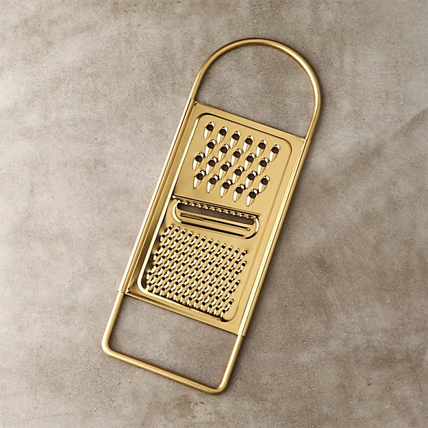 Shiny Gold Grater