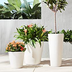 shore polyterrazzo planters