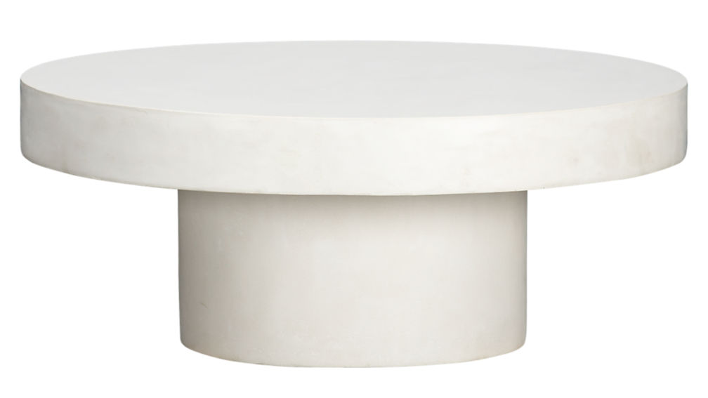 ... shroom coffee table - Shroom White Cocktail Table CB2