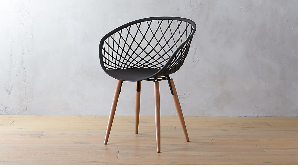 Sidera Crosshatch Chair Reviews Cb2