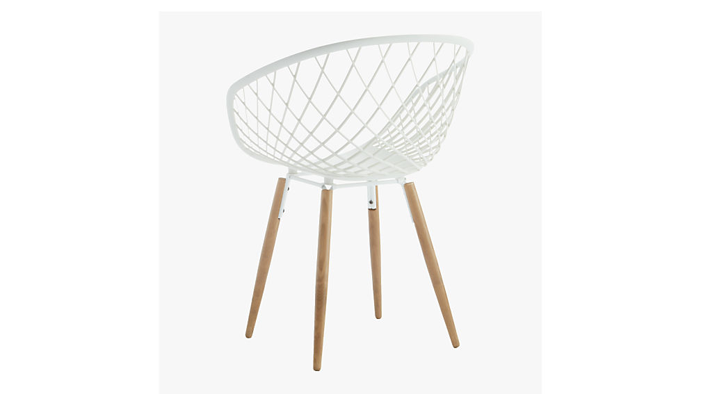 sidera white chair