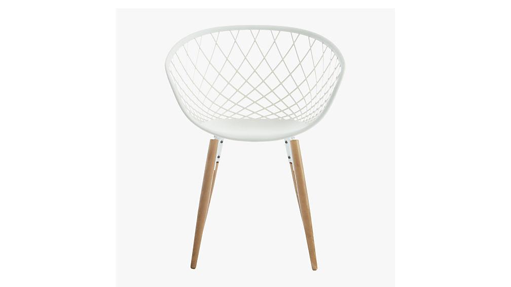 sidera white chair