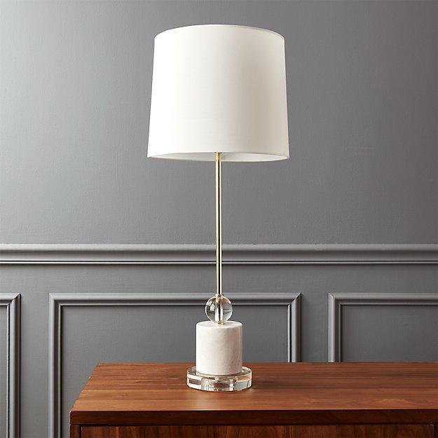 Siena Marble Base Table Lamp