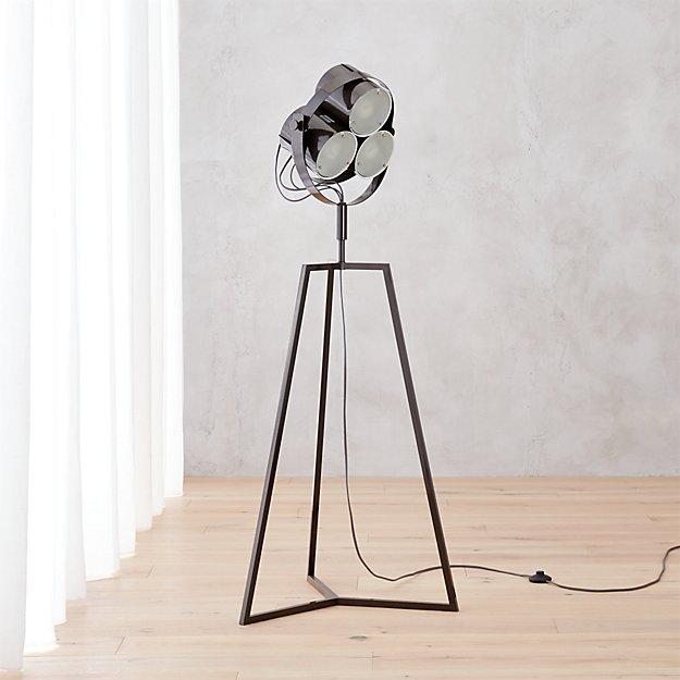 signal floor lamp cb2. Black Bedroom Furniture Sets. Home Design Ideas