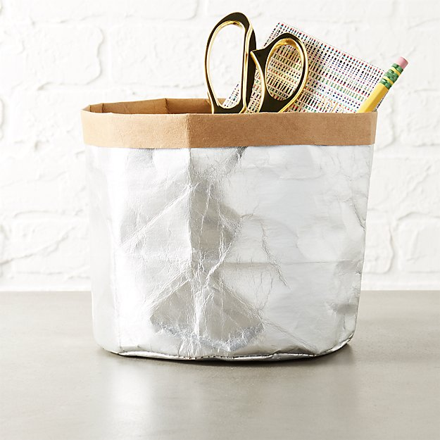 silver papier catchall