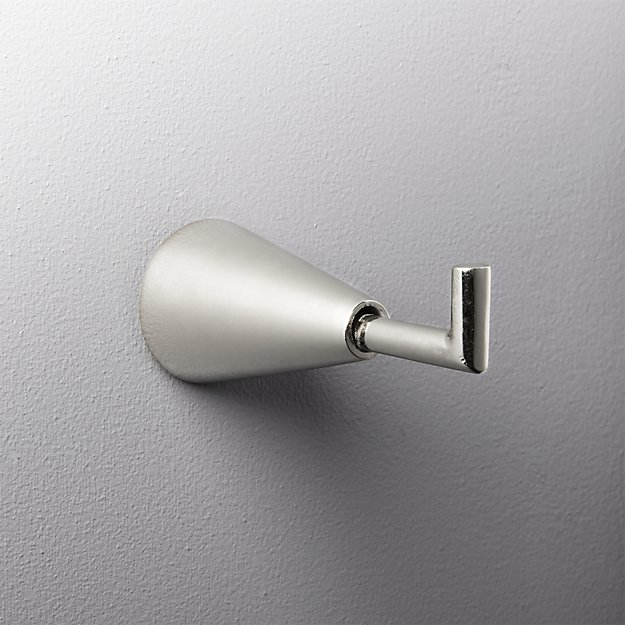 silver towel hook