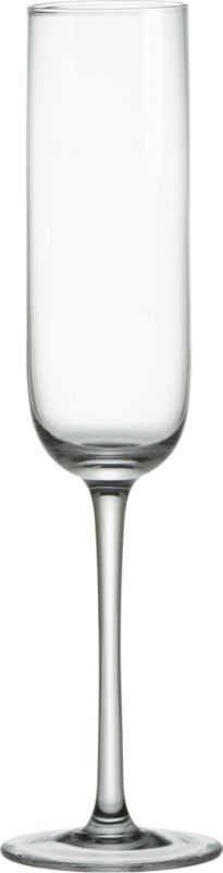 simplicity champagne flute