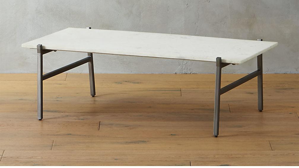 Slab Coffee Table Part - 33: Marble Slab Coffee Table | CB2