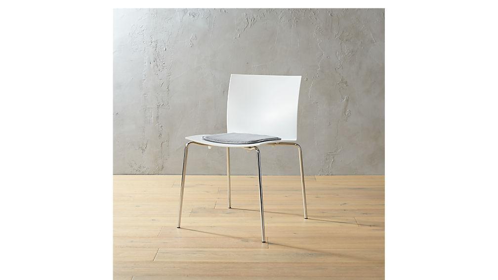 bistro universal zinc chair cushion