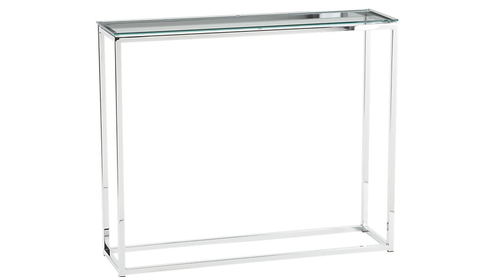 long narrow glass console table canada skinny australia smart top