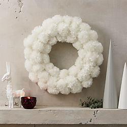 snowball wreath