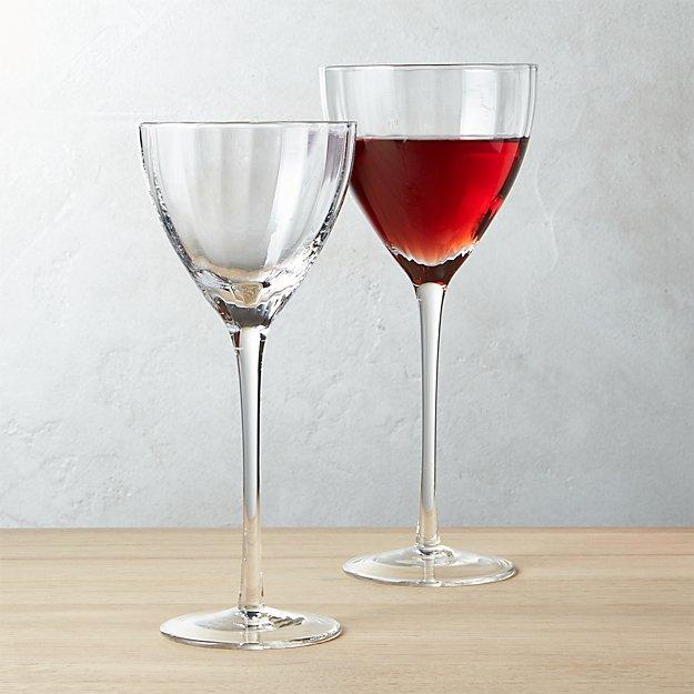 Sophia Optic Wine Glasses