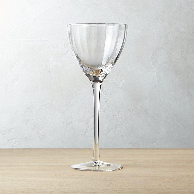 Sophia Optic White Wine Glass