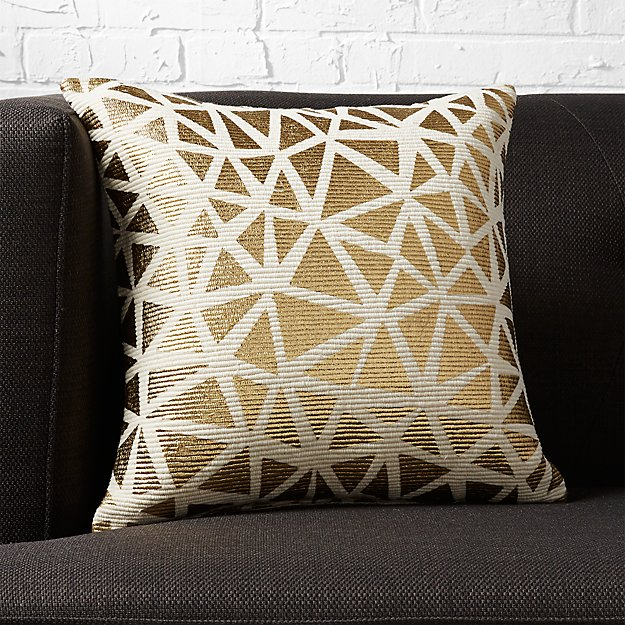 "16"" soiree natural pillow"