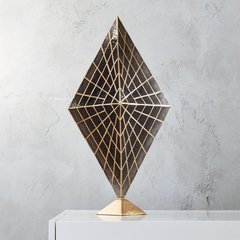 Solace Capiz Table Lamp Cb2