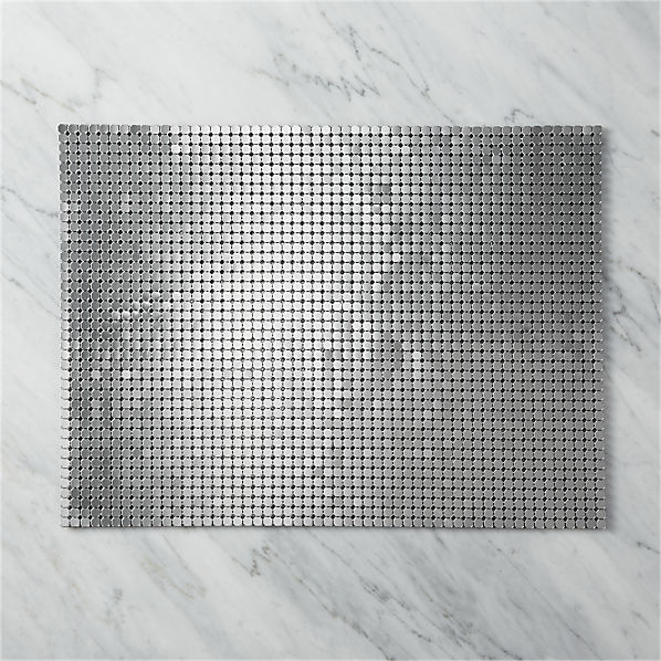 SpanglePewterPlacemat14x19SHF16