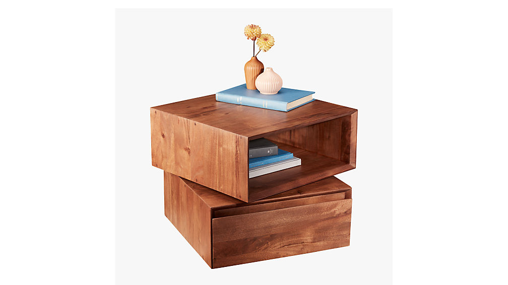 Spin Rotating Side Table Cb2