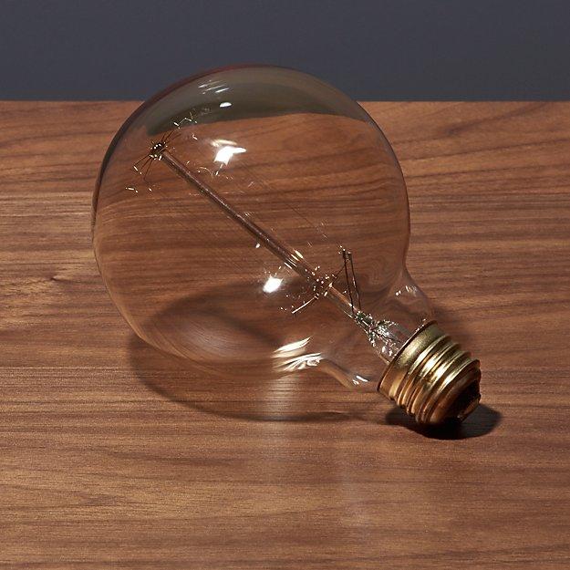 spiral filament 40W large light bulb