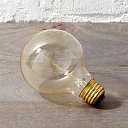 spiral filament 40W light bulb