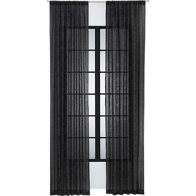 splatter sheer curtain panel