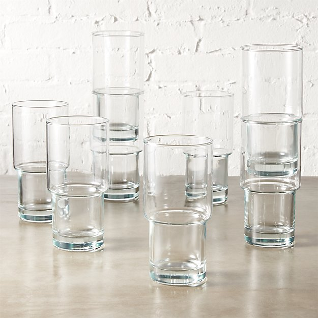 set of 8 stack coolers