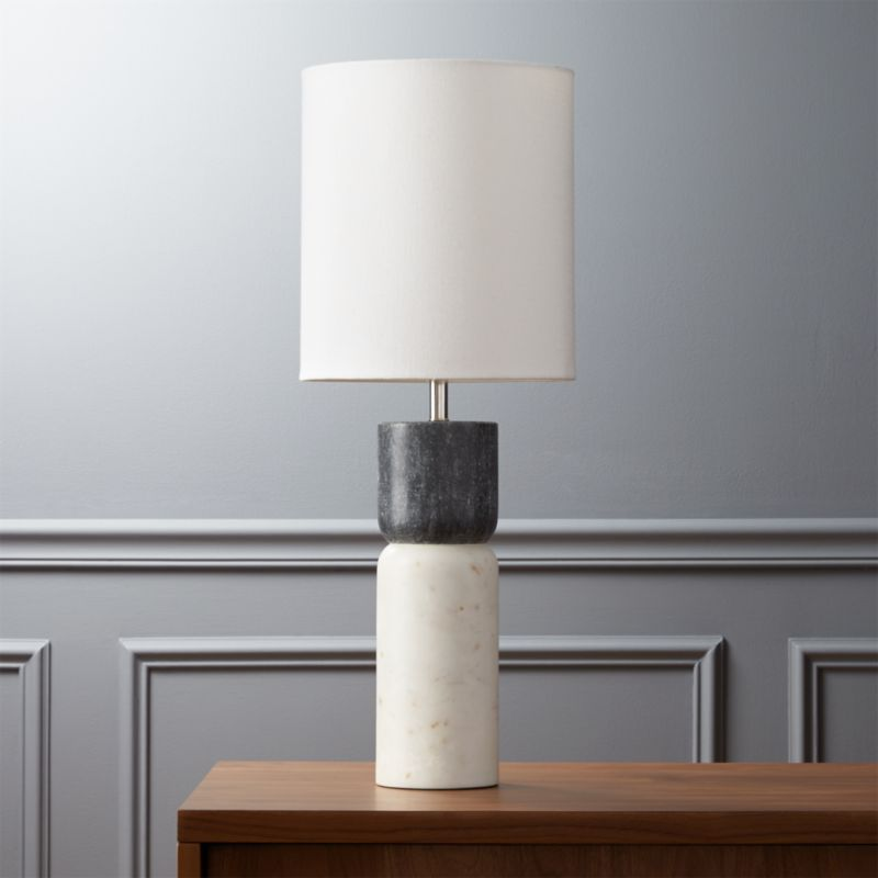 Nice Modern Black Table Lamps | CB2