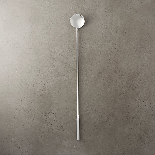 stainless steel cocktail stirrer