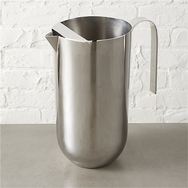 stainless steel mirror pitcher
