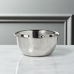 stainless steel mini bowl
