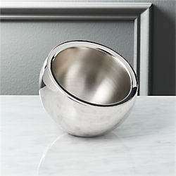 stainless steel mini snack bowl