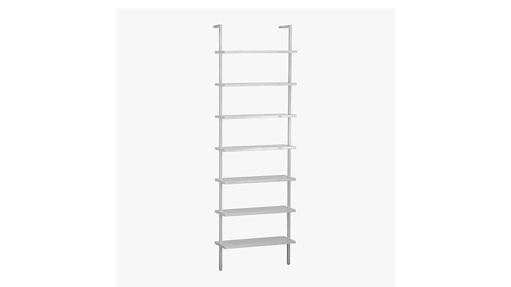 Stairwaybookcasewhite3qs12 Stairwaybookcasewhitesds12 Stairwayshelfwhiteavf14