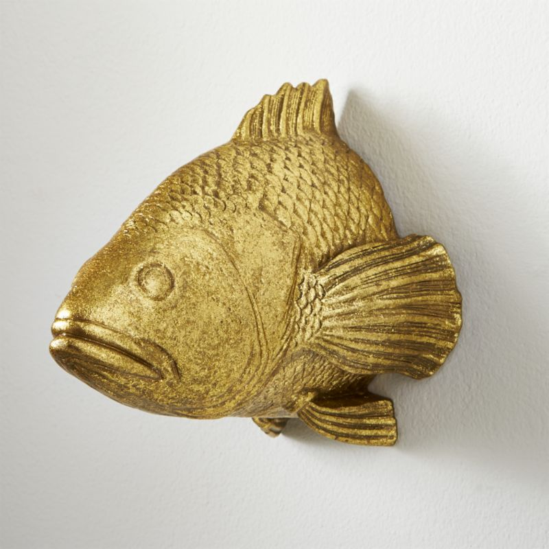 Stan The Goldfish Wall Hanging Reviews Cb2