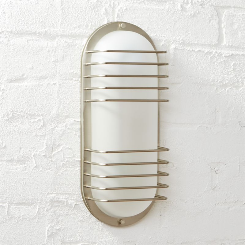 Cb2 Repeat Wall Sconces : starboard wall sconce CB2