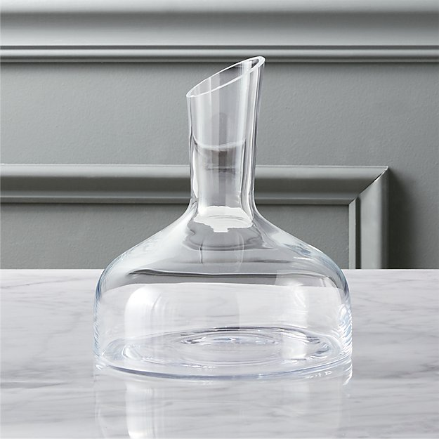 stem wine decanter